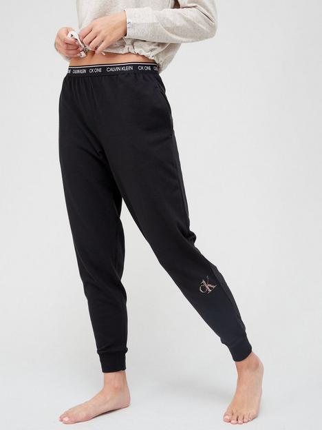 calvin-klein-ck-one-glisten-lounge-jogger-black