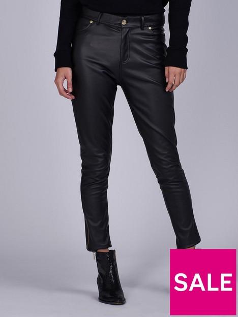 barbour-international-goodwood-pu-coated-stretch-slim-jean-black
