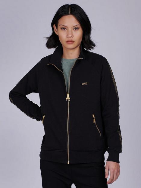 barbour-international-qualify-zip-through-hoodie-black