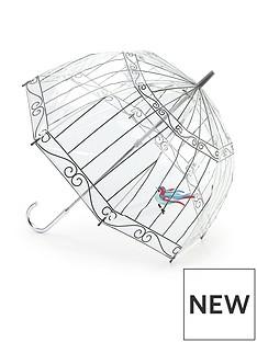 lulu-guinness-birdcage-umbrella-clear