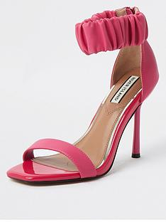 river-island-satin-rouched-ankle-strap-barely-there-sandal-pink
