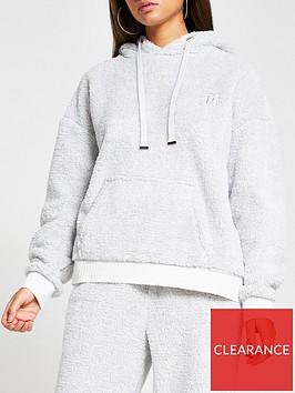 river-island-lurex-cosy-loungewear-hoody-co-ord-grey
