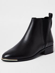 river-island-wide-fit-leather-chelsea-boot-black