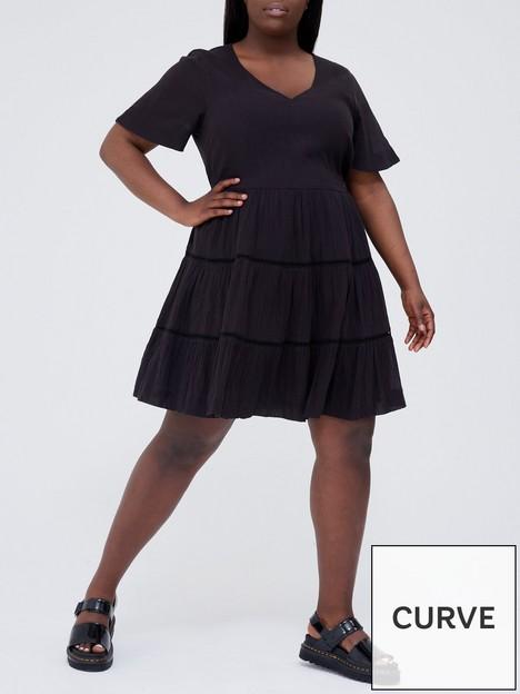 v-by-very-curve-lace-insert-crinkle-dress-black