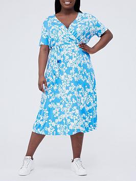 v-by-very-curve-jersey-wrap-pocket-midi-dress-blue-floralnbsp