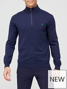 polo-ralph-lauren-golf-long-sleeve-pima-half-zip-navy