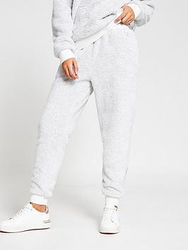 river-island-lurex-cosy-loungewear-jogger-co-ord-grey