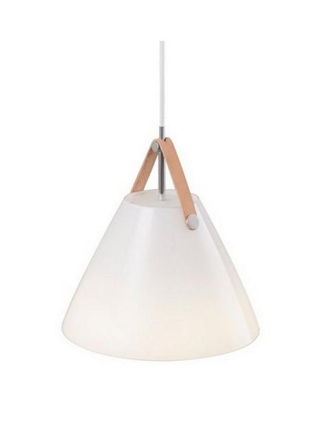 nordlux-strap-glass-pendant-white