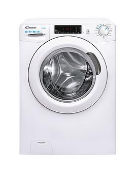 Candy Smart Cs 1410Te/1-80 10Kg Load, 1400 Spin Washing Machine - White