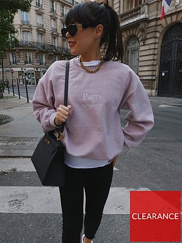 in-the-style-in-the-style-x-lorna-luxenbspparisnbspembroidered-sweatshirt-pink