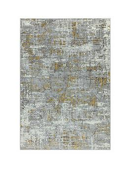 asiatic-orion-abstract-yellow-rug