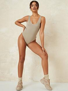 missguided-missguided-seamless-body--khaki