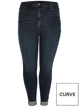ri-plus-high-waist-turn-up-skinny-jean-dark-blue