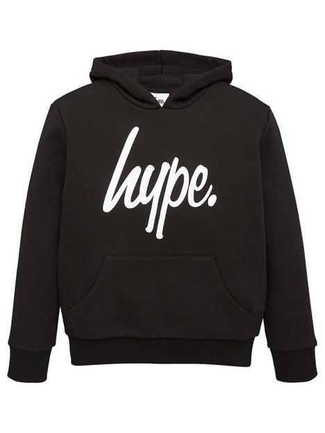 hype-boys-core-script-hoodie-black