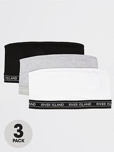 river-island-3-pack-plain-bandeau