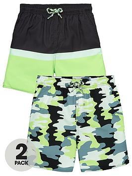 v-by-very-boys-pack-ofnbsp2-camocutnbspand-sew-pack-swimshorts-multi