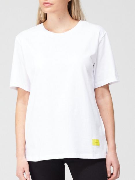 gestuz-liv-classic-fit-t-shirt-white
