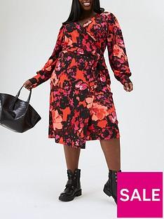 ri-plus-ri-plusnbspprinted-wrap-dress-print