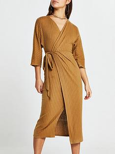 ri-petite-cosy-jersey-wrap-dress-camel