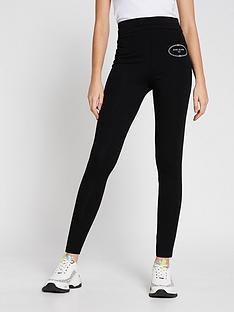 ri-plus-branded-foldover-leggings-black