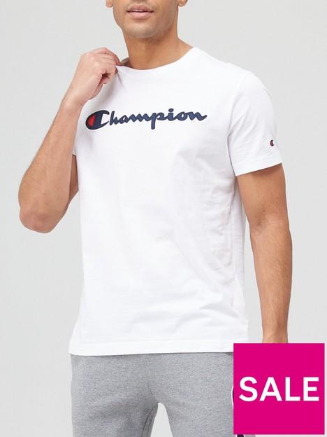 champion-logo-t-shirt-white