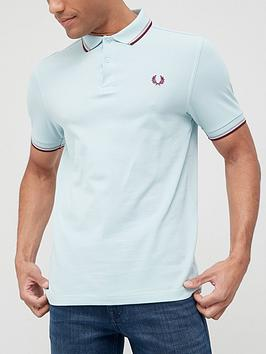 fred-perry-twin-tippednbsppolo-shirt-bluenbsp