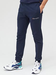 champion-small-logo-joggers-navy