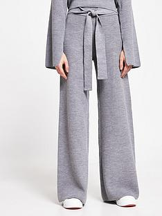 river-island-knitted-lounge-trousers-charcoal