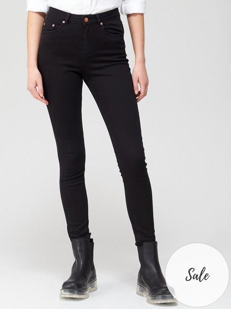 gestuz-emily-high-waisted-skinny-jeans-black