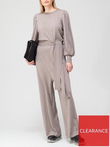 gestuz-thelma-wool-jumpsuit-beige