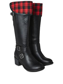 joe-browns-check-me-out-2-in-1-boots-black