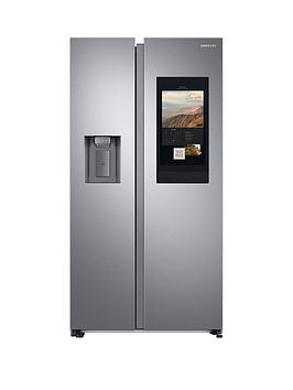 Samsung Rs6Ha8891Sl/Eu American Style Fridge Freezer - Family Hub Best Price, Cheapest Prices