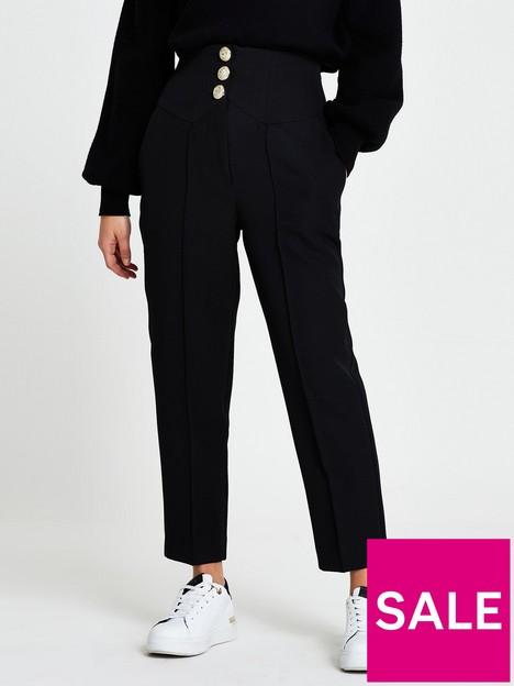 ri-petite-high-waist-cigarette-trouser-black