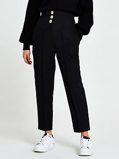 ri-petite-high-waist-cigarette-trouser-black