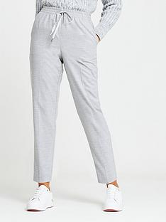 river-island-soft-touch-smart-jogger-grey