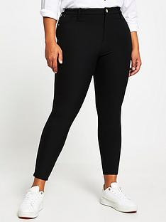 ri-plus-molly-high-waist-techno-skinny-trouser-black