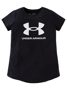 under-armour-girls-live-sportstyle-graphic-short-sleeved-t-shirt-black