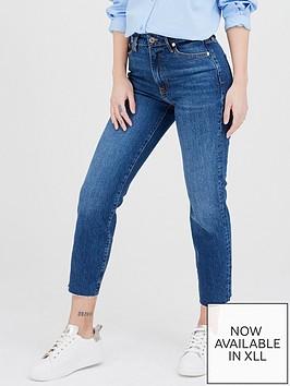 river-island-high-waist-straight-leg-jean-dark-blue