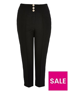 ri-plus-high-waist-cigarette-trousers-black