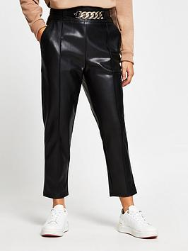 ri-petite-high-waist-pu-trouser-black