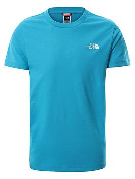 the-north-face-unisex-short-sleeve-simple-dome-t-shirt-blue