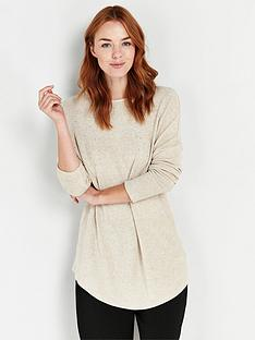 wallis-embellished-knit-jumper-oatmeal