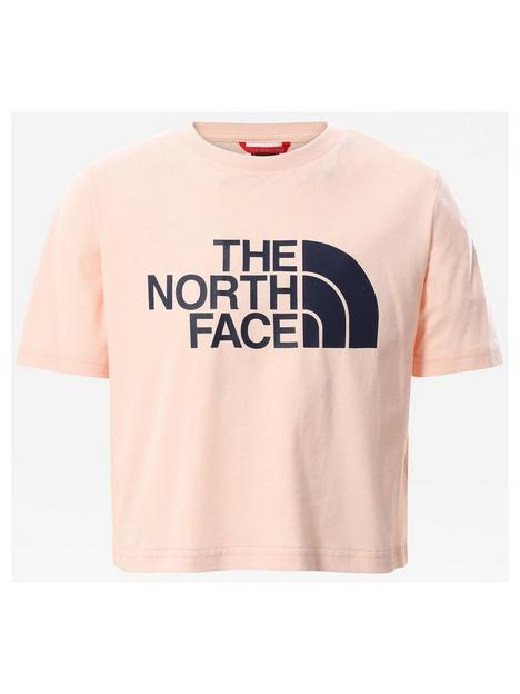 the-north-face-girls-short-sleeve-easy-crop-t-shirt-pink