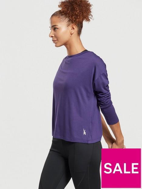 reebok-workout-supremium-long-sleeve-top-purple