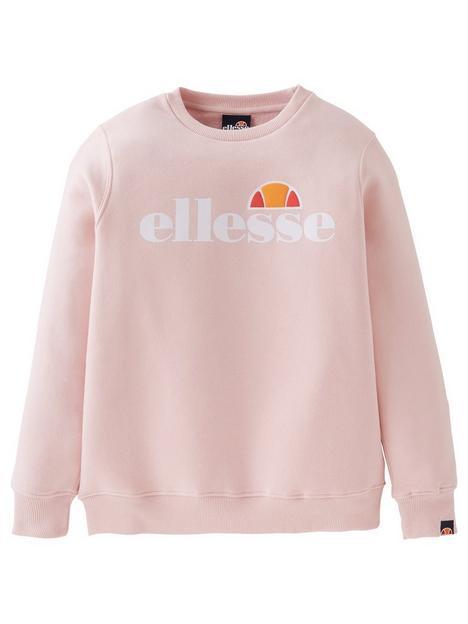 ellesse-junior-girls-core-siobhen-sweatshirt-light-pink