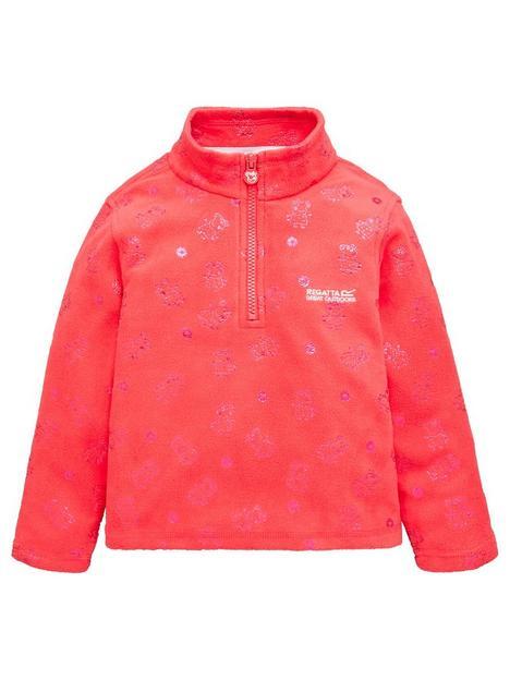 regatta-girls-peppa-printed-fleece-pink