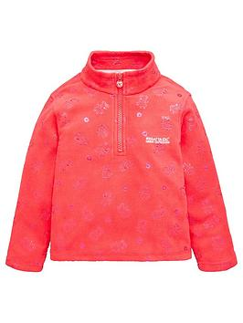 regatta-girls-peppa-printed-fleece-pink