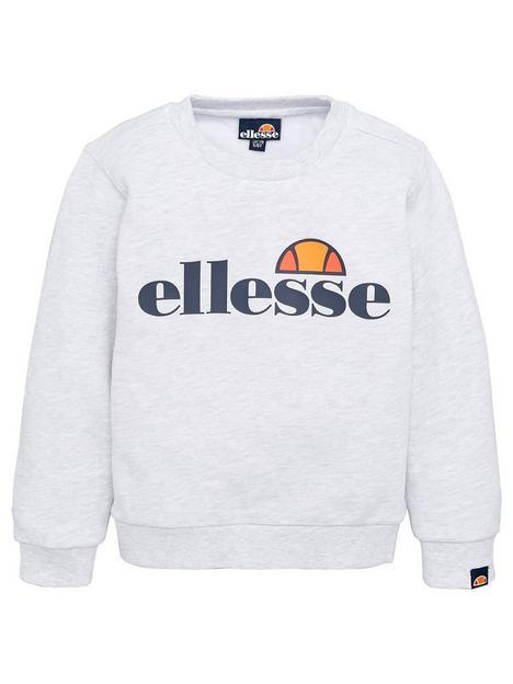 ellesse-younger-boys-core-suprios-sweatshirt-white