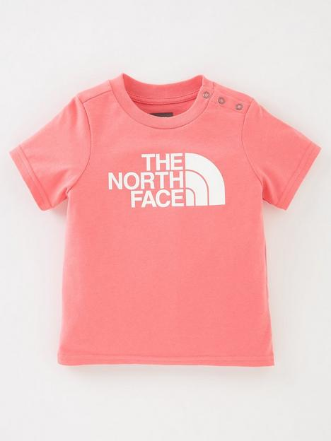 the-north-face-unisex-infant-easy-short-sleeve-t-shirt-pink