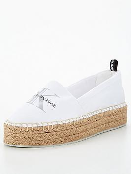 calvin-klein-jeans-logo-wedge-espadrille-white